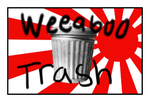 Weeaboo Trash Stamp by Amaara-Jayn