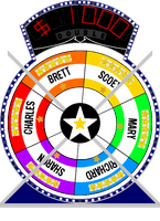 Star Wheel #2 $1,000 by mrentertainment