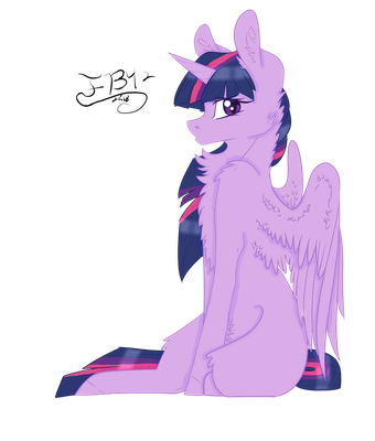 Twilight Sparkle Collab by FlowerButter42