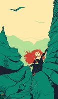 Merida from Brave by FionaCreates