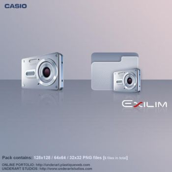 Casio Exilim pack by uriel