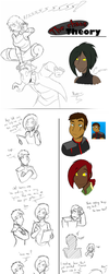 The Chaos Theory - Sketchdump 3 by HiSS-Graphics
