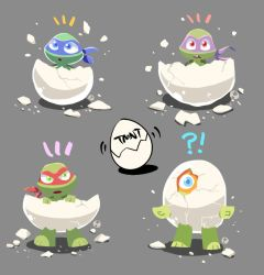 TMNT EGGS by tamaume