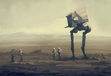 Star Wars - Tatooine by QuintusCassius