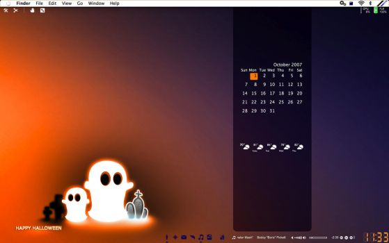 Desktop Halloween by braiiins