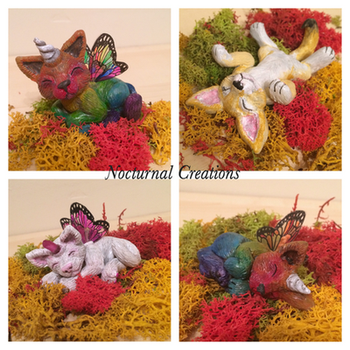 Fairy Critters by NocturnalCreations-x