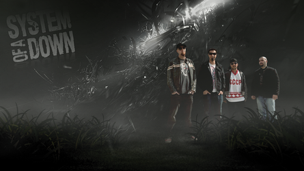 System of a Down Wallpaper by crepish
