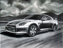 Nissan GTR by Louisa911