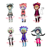 Yuu-Chans-Adopts Collab Auction [CLOSED] by flarechess