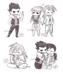 Chibi FMA doodles by Isi-Daddy