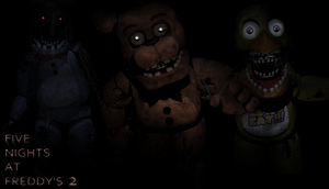 Five Nights at Freddy's 2 Wallpaper - Old F, B, C by PeterPack