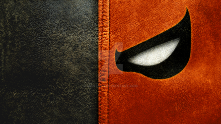Deathstroke leather  mask