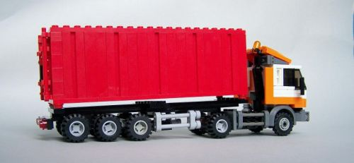 Container truck 03 by Bobofrutx