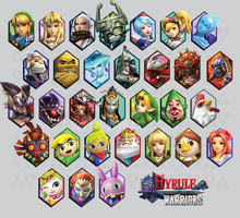 Hyrule Warriors Wallpaper by ManyLines