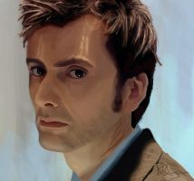 The Tenth Doctor - Tired. by Nollaig