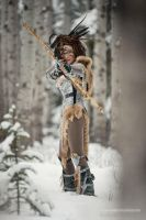 Fire and Ice - Skyrim Cosplay by Beebichu 2 by Beebichu