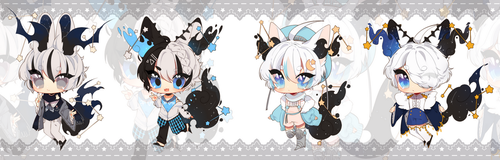 constellation boys adoptable (closed) by machomilk