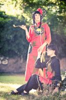xxxholic - Witch And Servant by aco-rea