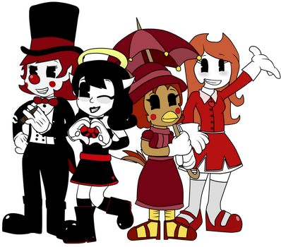 ~The Lovely Ladies of Dizzyworks~ by Gamerboy123456