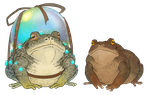 Toads by Kampfkewob