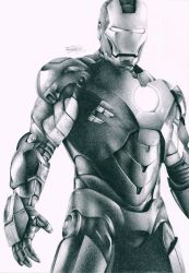 Iron Man by OliveArtOlive