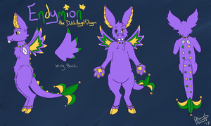 Endymion Ref Sheet 2017 by DeviouslyDoomed