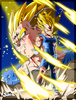 Majin Vegeta - Moment Epic by SaoDVD