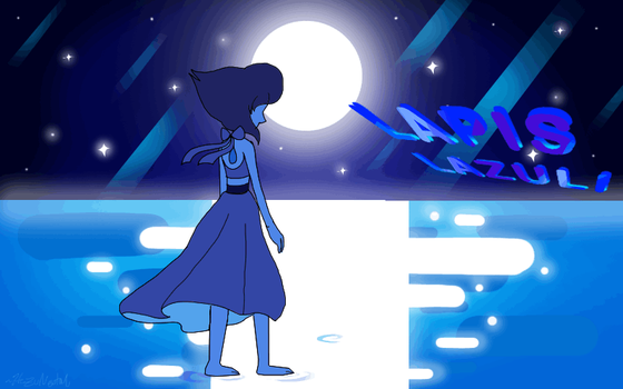 HWG ANIMATION Lapis Lazuli Gif by HezuNeutral