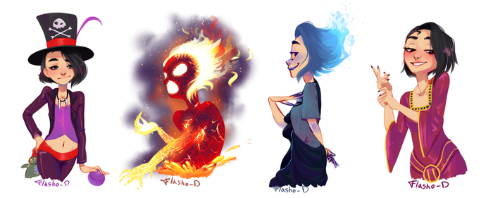 Draw Yourself as a Disney Villain by Flasho-D
