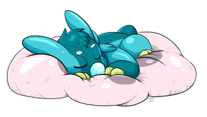 Covi's Having a Snooze by Hylian-Rinku