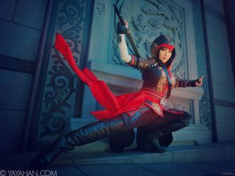 Shao Jun - Assassin's Creed Chronicles: China by yayacosplay