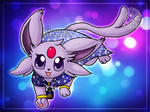 [Prize] Mana the Espeon by Veemonsito