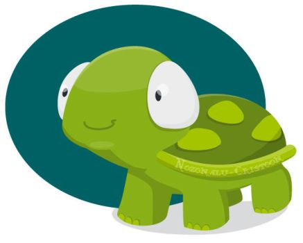 Tortue by cristoon