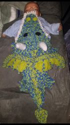 dragon baby blanket by aminport