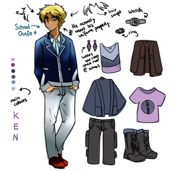 Lunatic!! Reference Sheet - Ken Jones by itsashowtime