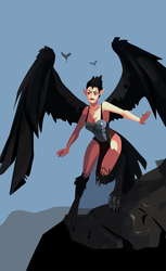 Commission: Harpy Girl by Sternguard