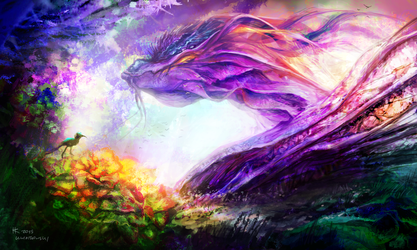 Nature Dragon by Thylacinee