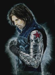 Winter Soldier - Bucky Barnes by kleopetra007