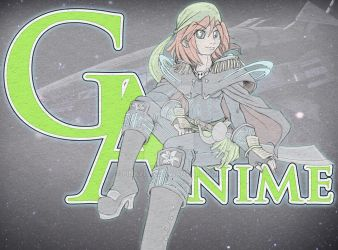 2014 G-Anime Mascot Sketch and Color test : Gamine by pinkviviz