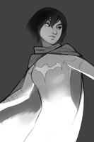 Look, I just like drawing Cassandra Cain by Psuede