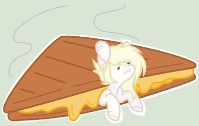 look at meh im a grilled cheese by CrystallLight