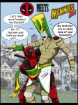 Mummies Alive meets Deadpool by uddelhexe