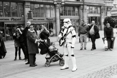 Socialist Stormtrooper by woodfaery