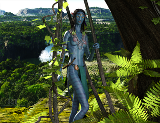 Forest Na'vi : New by DrowElfMorwen