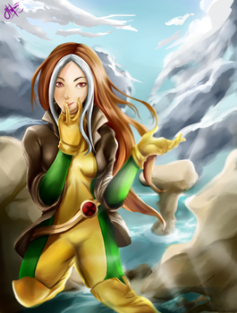 Rogue From X-men by Rochefore