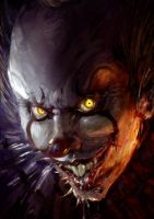 Pennywise Sketch by slaine69