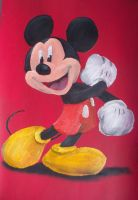 Mickey Mouse by billywallwork525