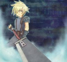 Cloud Strife by mopgaski