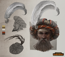 TW: Warhammer - Empire Noble Hat by telthona