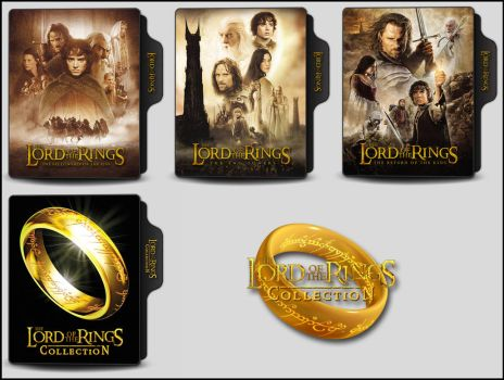 The Lord of the Rings Collection Folder Icons by OnlyStyleMatters